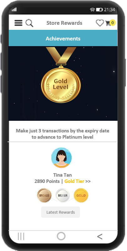 Tier-based customer loyalty programs to engage and attract customers