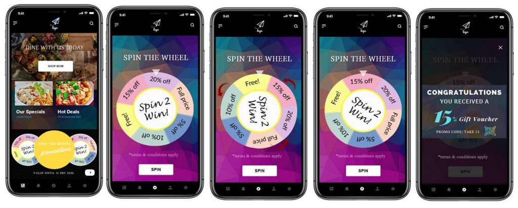 spin the wheel system