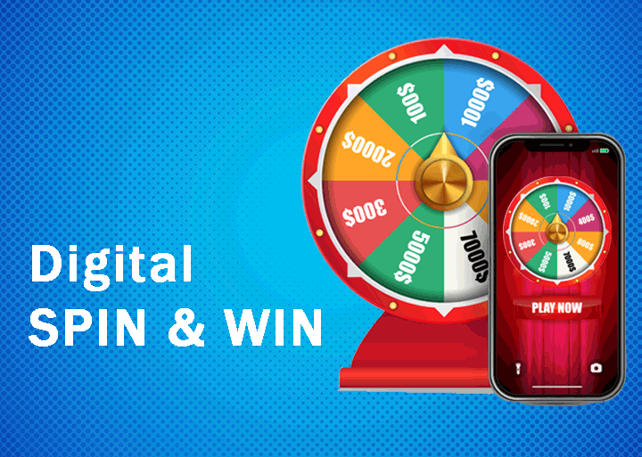 Digital Spin the Wheel for events: Customer engagement using gamification