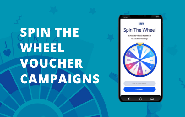 Use Spin the wheel voucher campaigns & gamify customer behaviour